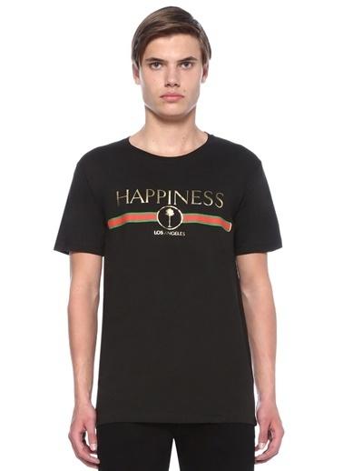 Happiness Tişört Siyah